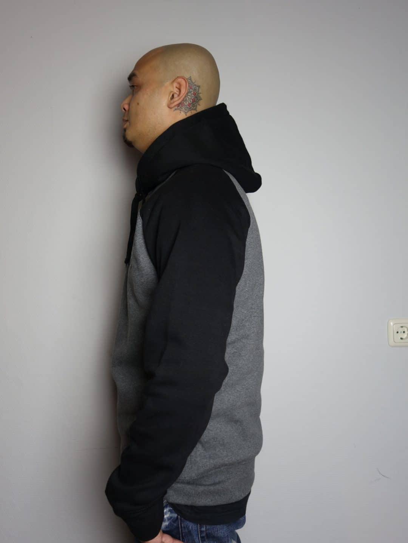 "Heavy cotton ""BUBBLE' hoodie"